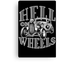 Hell on Wheels - Monotone Canvas Print