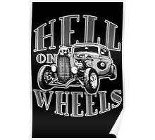 Hell on Wheels - Monotone Poster