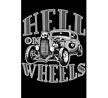 Hell on Wheels - Monotone Photographic Print