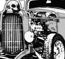 Hell on Wheels - Monotone Sticker