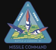 MISSILE COMMAND - ATARI COLD WAR One Piece - Short Sleeve