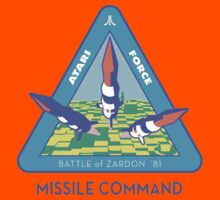 MISSILE COMMAND - ATARI COLD WAR Kids Tee