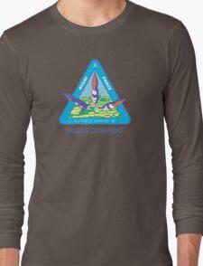 MISSILE COMMAND - ATARI COLD WAR Long Sleeve T-Shirt