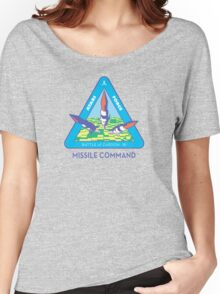 MISSILE COMMAND - ATARI COLD WAR Women's Relaxed Fit T-Shirt