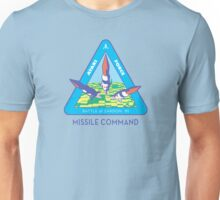 MISSILE COMMAND - ATARI CLASSIC PATCH Unisex T-Shirt
