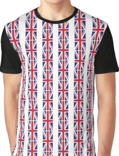 Flag of Great Britain - UK Flag Duvet Cover Sticker and Shirt Graphic T-Shirt