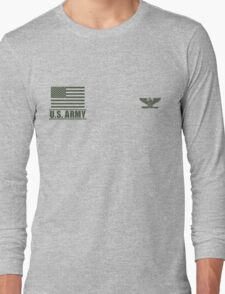 Colonel Infantry US Army Rank by Mision Militar ™ Long Sleeve T-Shirt
