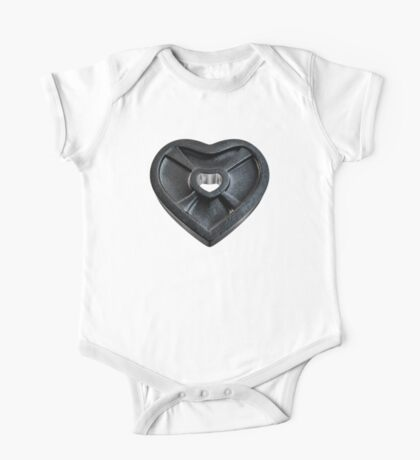 Lift With Your Heart One Piece - Short Sleeve