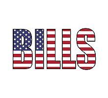 Bills Photographic Print