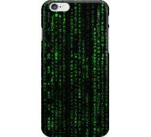 Matrix Pattern Tall iPhone Case/Skin