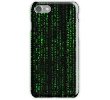 Matrix Pattern Tall iPhone Case/Skin