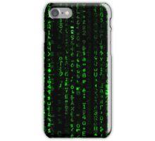 Matrix Pattern Wide iPhone Case/Skin