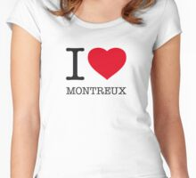 I ♥ MONTREUX Women's Fitted Scoop T-Shirt