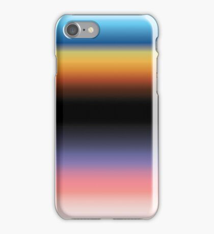 The Skys Colour iPhone Case/Skin