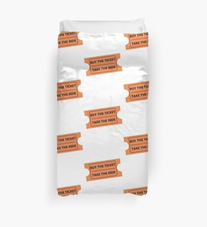 Fear and Loathing in Fair Grounds Duvet Cover