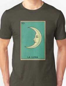 Tarot Card - La Luna - loteria - The moon Unisex T-Shirt