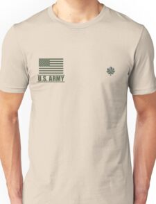 Lieutenant Colonel Infantry US Army Rank Desert by Mision Militar ™ Unisex T-Shirt