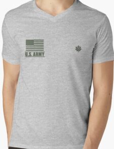 Lieutenant Colonel Infantry US Army Rank by Mision Militar ™ Mens V-Neck T-Shirt