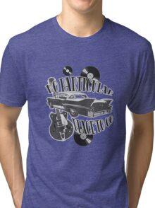 No Particular Place to Go - monotone Tri-blend T-Shirt