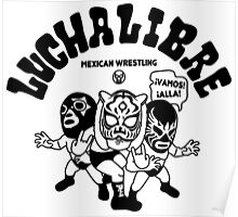 mexican wrestling lucha libre11 Poster