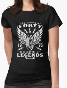 The Birth Of Legends Womens Fitted T-Shirt