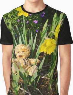 Basking In The Daffodils Graphic T-Shirt
