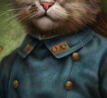 The Hermitage Court Confectioner Apprentice Cat  Sticker