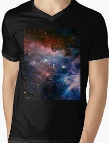 Colourful Space! Mens V-Neck T-Shirt
