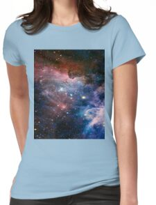 Colourful Space! Womens Fitted T-Shirt