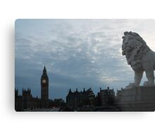 The Lion of London Metal Print
