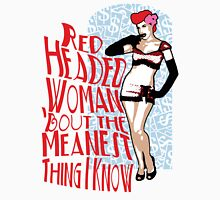 Red Headed Woman Unisex T-Shirt