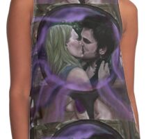 The Power of True Love's Kiss Contrast Tank
