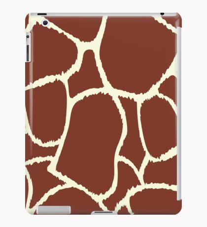 Giraffe seamless pattern texture iPad Case/Skin
