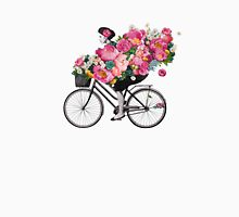 floral bicycle  Unisex T-Shirt