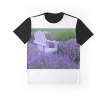 Come and sit among the Lavender Graphic T-Shirt