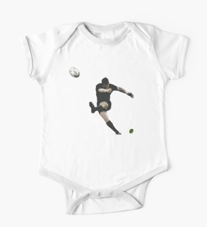 Rugby Goal Kick Illustration One Piece - Short Sleeve