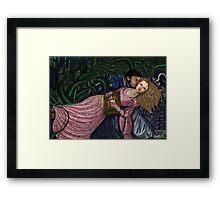 Captain Swan Fairytale Framed Print
