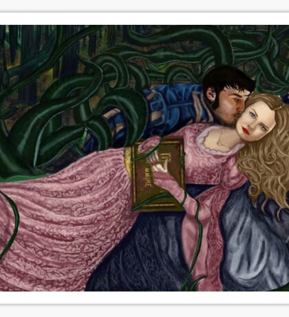 Captain Swan Fairytale Sticker