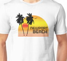 NEWPORT BEACH CALIFORNIA SUNSET Unisex T-Shirt