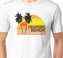 NEWPORT BEACH CALIFORNIA SUNSET Unisex T-Shirt