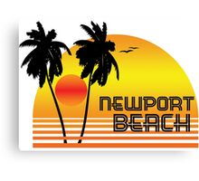 NEWPORT BEACH CALIFORNIA SUNSET Canvas Print