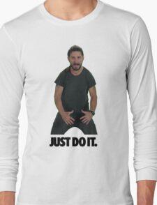 Shia LaBeouf Just Do It Long Sleeve T-Shirt