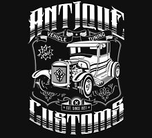 Hot Rod - Antique Customs (white) Unisex T-Shirt