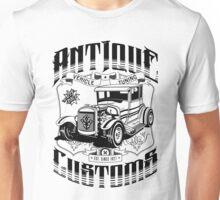 Hot Rod - Antique Customs (black) Unisex T-Shirt