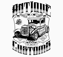 Hot Rod - Antique Customs (black) Unisex T-Shirt