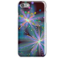Shimmery 3d fractal flowers 4 iPhone Case/Skin