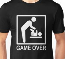FATHER BABYSITTER GAME OVER Unisex T-Shirt