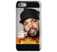 Ice Cube On Fire iPhone Case/Skin