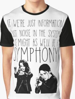 Root and Shaw - Symphony - Person of interest Graphic T-Shirt