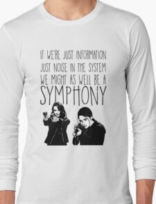 Root and Shaw - Symphony - Person of interest Long Sleeve T-Shirt